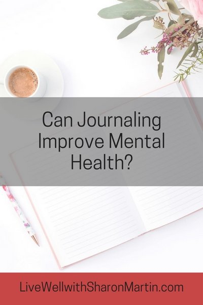 Can journaling improve mental health