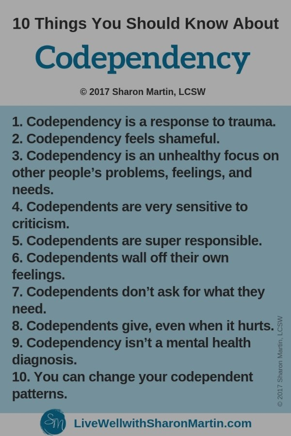 Facts about Codependency #codependency
