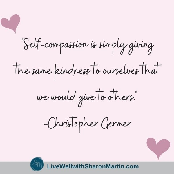 self-compassion quote Christopher Germer