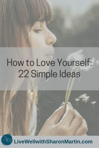 A woman learning to love herself with self-compassion
