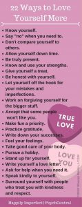 22 ideas for how to love yourself