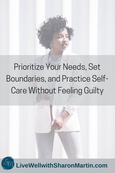 Boundaries and self-care make codependent feel guilty.