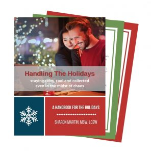 coping with difficult family during the holidays