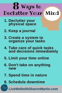 tips to reduce anxiety and worry