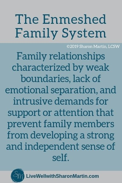 What is an enmeshed family system? #enmeshment #family #dysfunction #boundaries