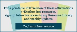 free pdf affirmations