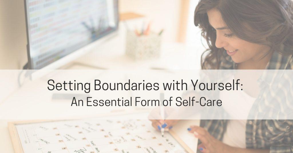 Boundaries as self-management