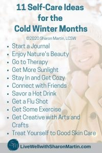 11 winter self-care activities