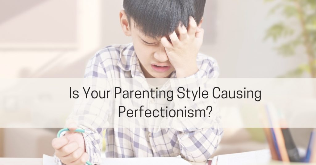 child frustrated with high expectations