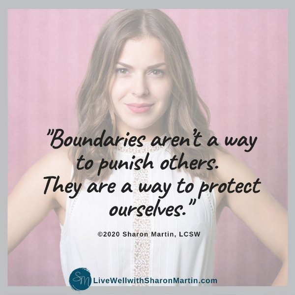 Boundaries aren't mean they're self-care