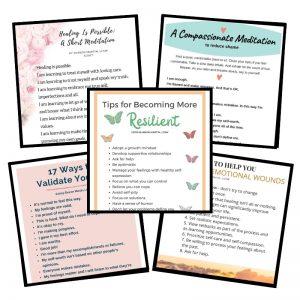 emotional healing tips