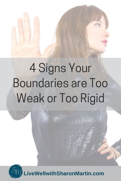 weak boundaries rigid boundaries