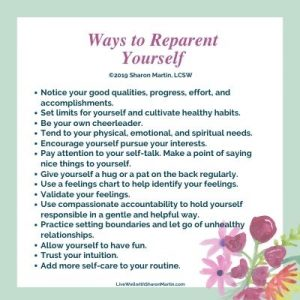 reparent yourself