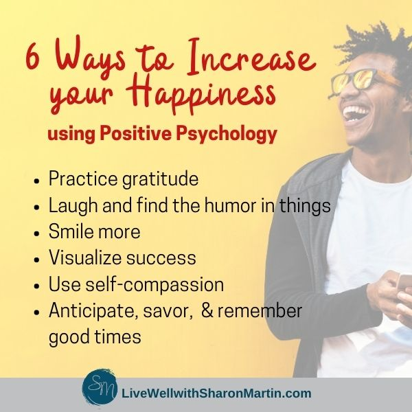 6 Ways to Increase your Happiness