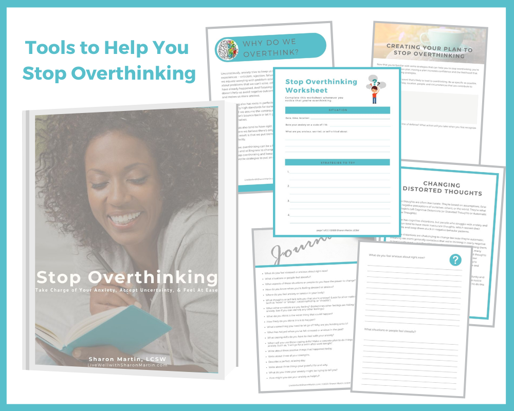 photo of Tools to Help You Stop Overthinking