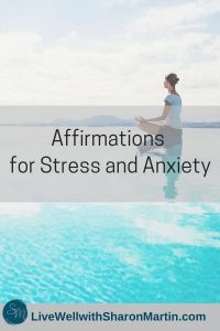 Affirmations for stress and anxiety