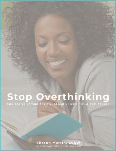 Stop Overthinking help for anxiety