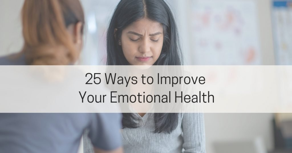 25 Ways to Improve Your Mental Health
