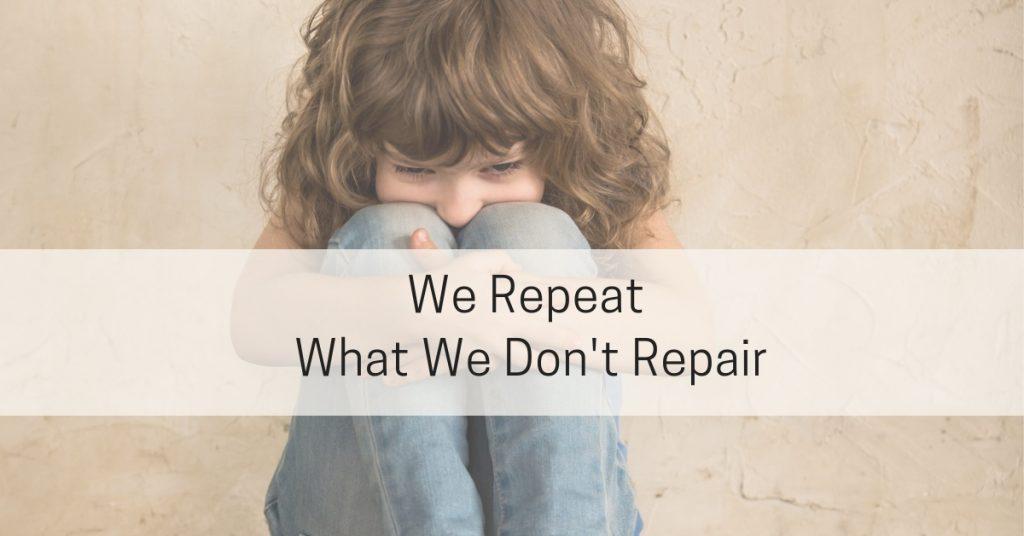 Repeat What We Don't Repair