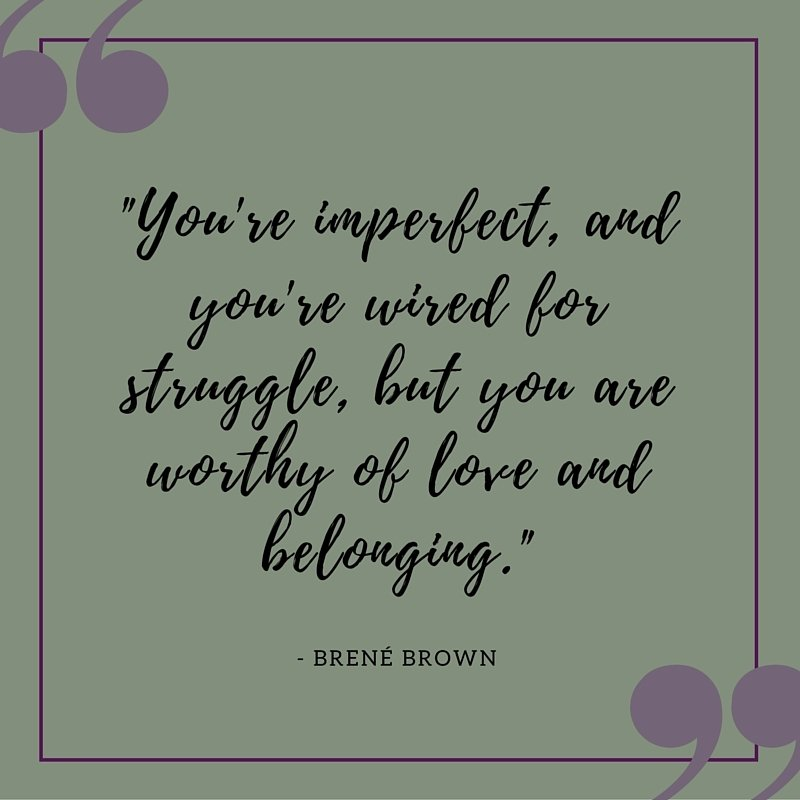 Brene Brown quotes about belonging