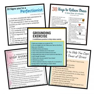 Stress and anxiety pdf bundle